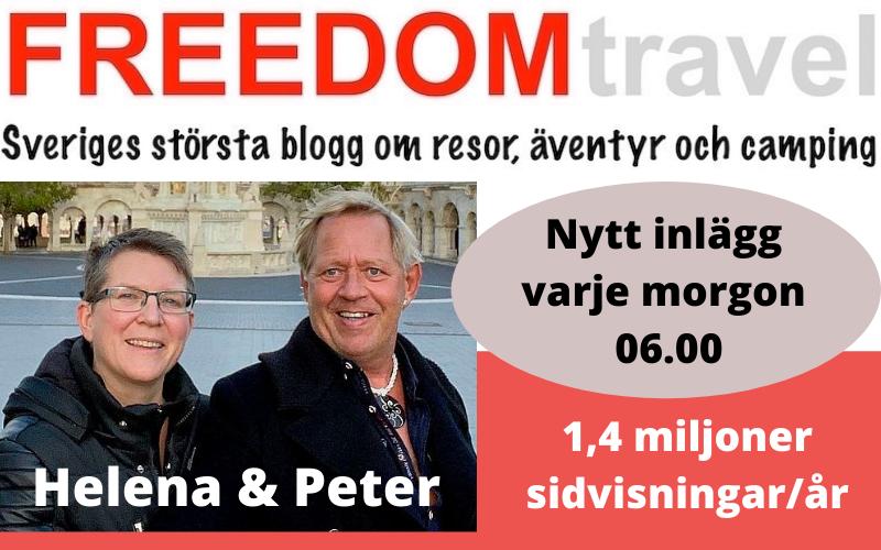 Helena och Peter, FREEDOMtravel reseblogg
