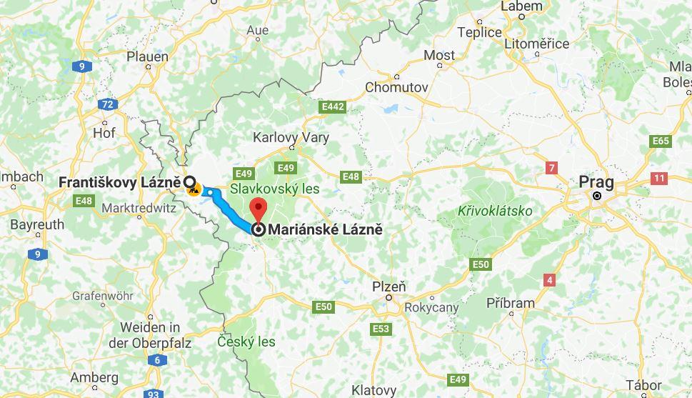 Till Marianske Lazne