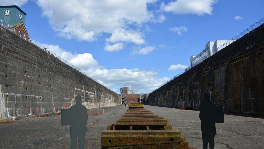 Torrdockan i Belfast