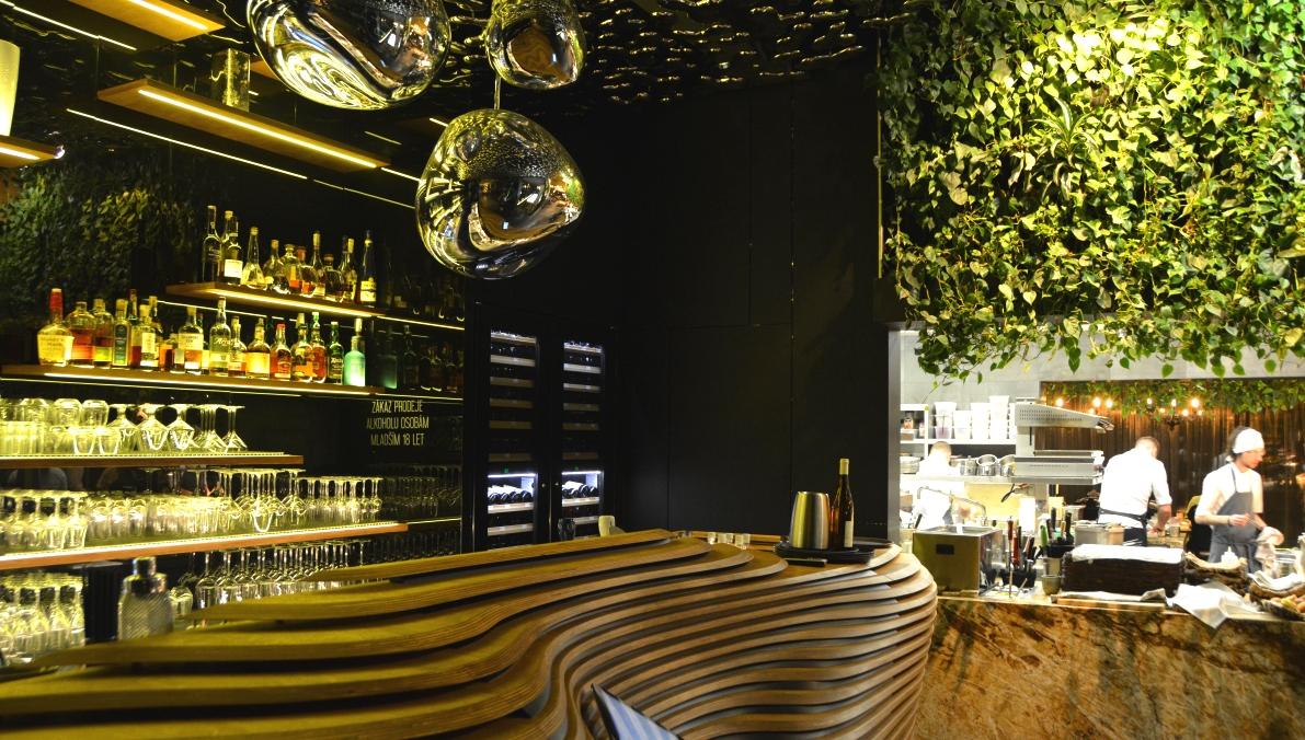 Restaurang Entrée i Olomouc