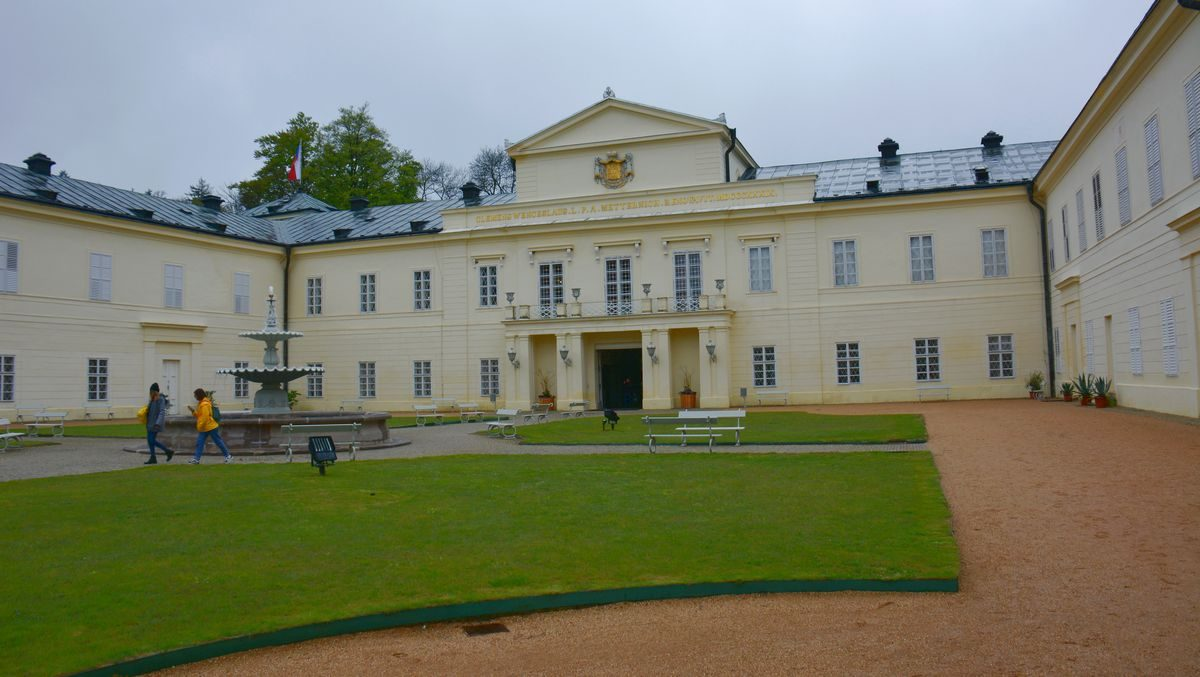 Slottet Kynžvart i Tjeckien