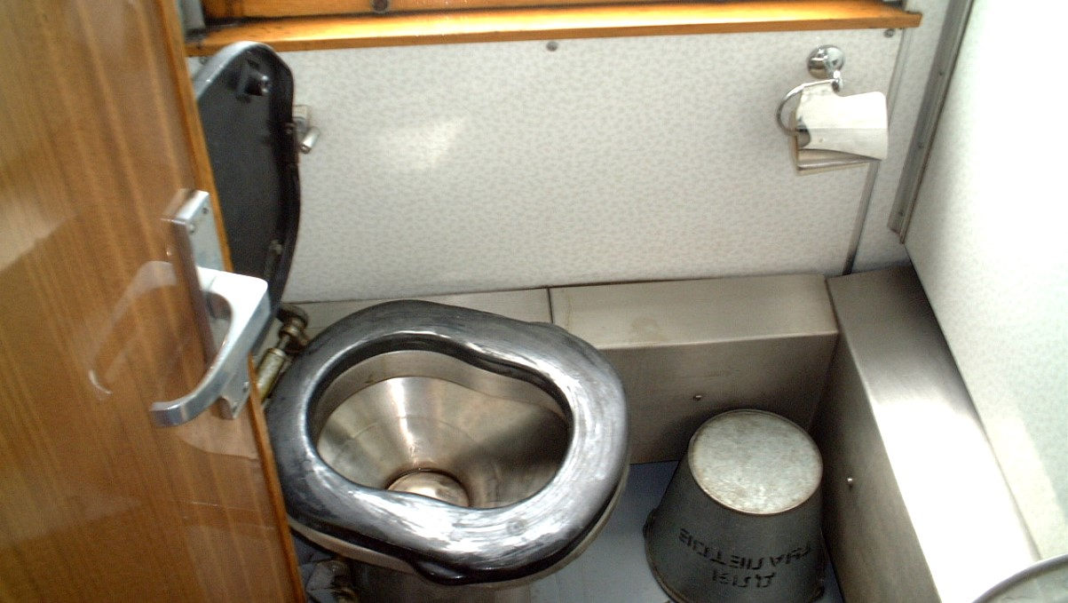 Toalett transsibiriska