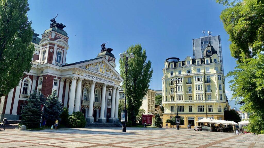 Göra i Sofia i Bulgarien - Ivan Vazovs nationalteater