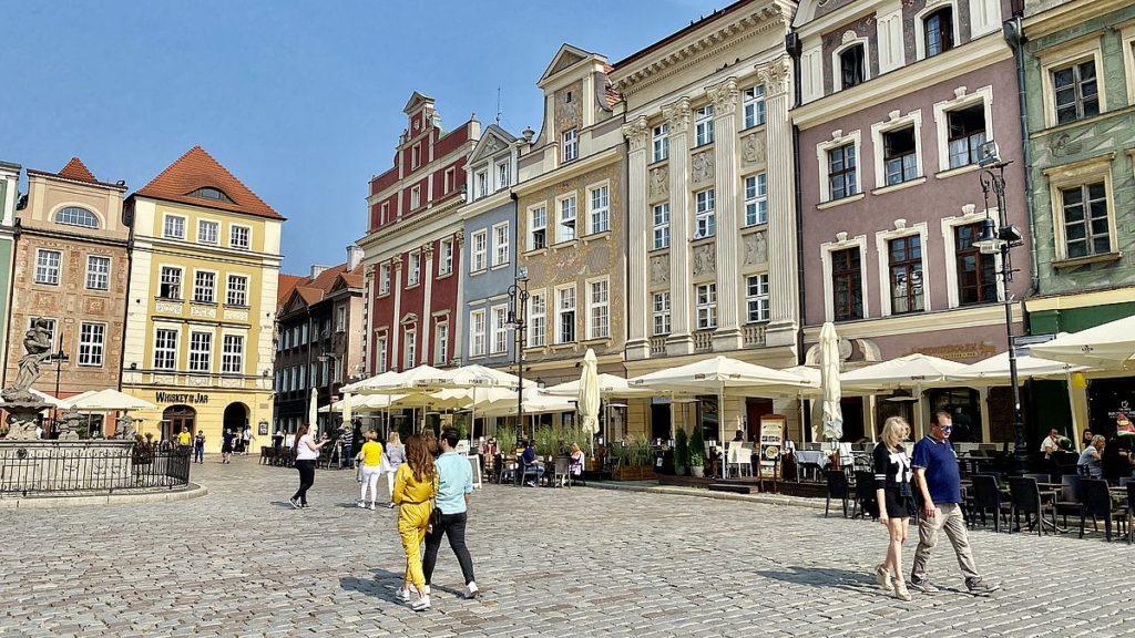 Poznan i Polen