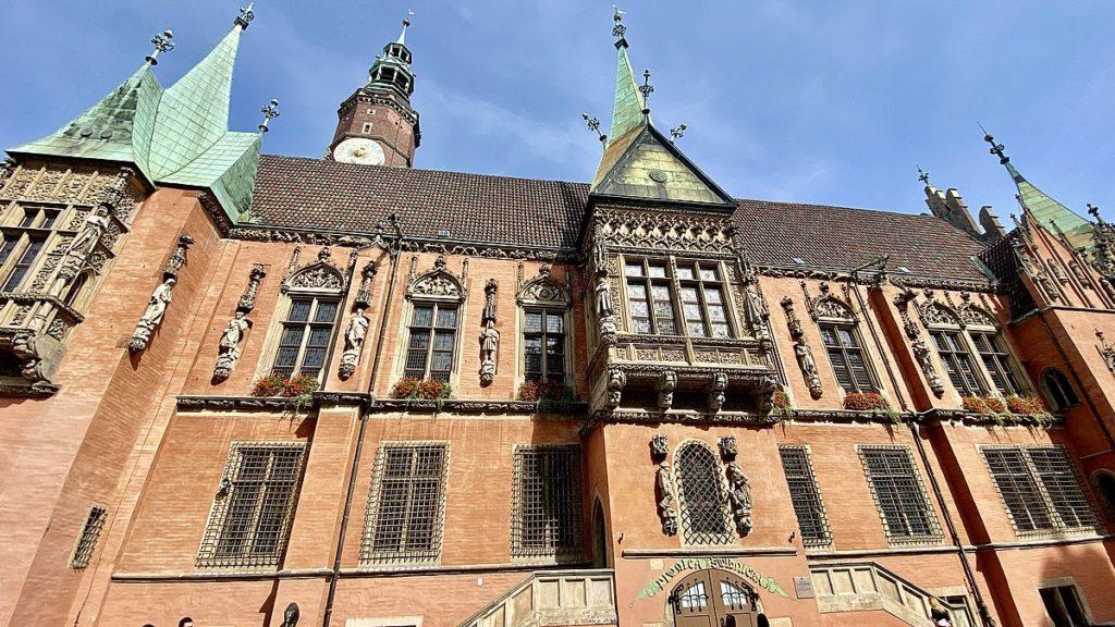 Rådhuset i Wroclaw