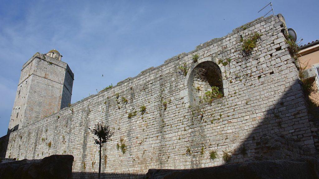 Captain's Tower i Zadar i Kroatien