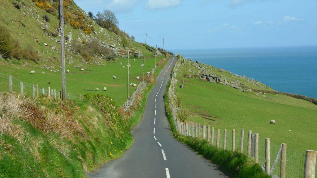 Vackraste vägen på Irland