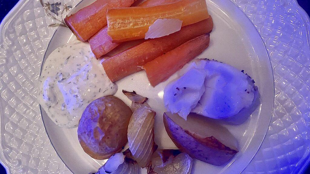 Nya matvanor - torsk, potatis ocj morötter