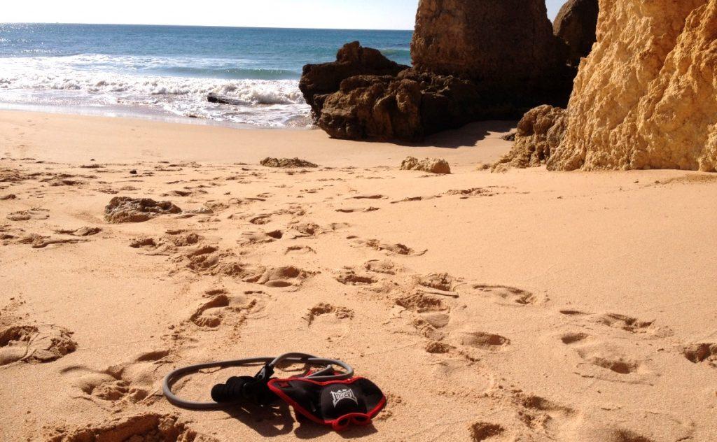Träna på stranden