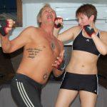 Att träna i en husbåt