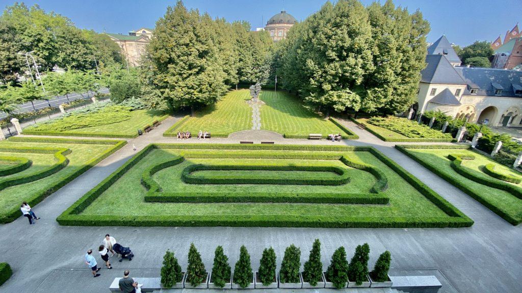 Kaiserslottet trädgård