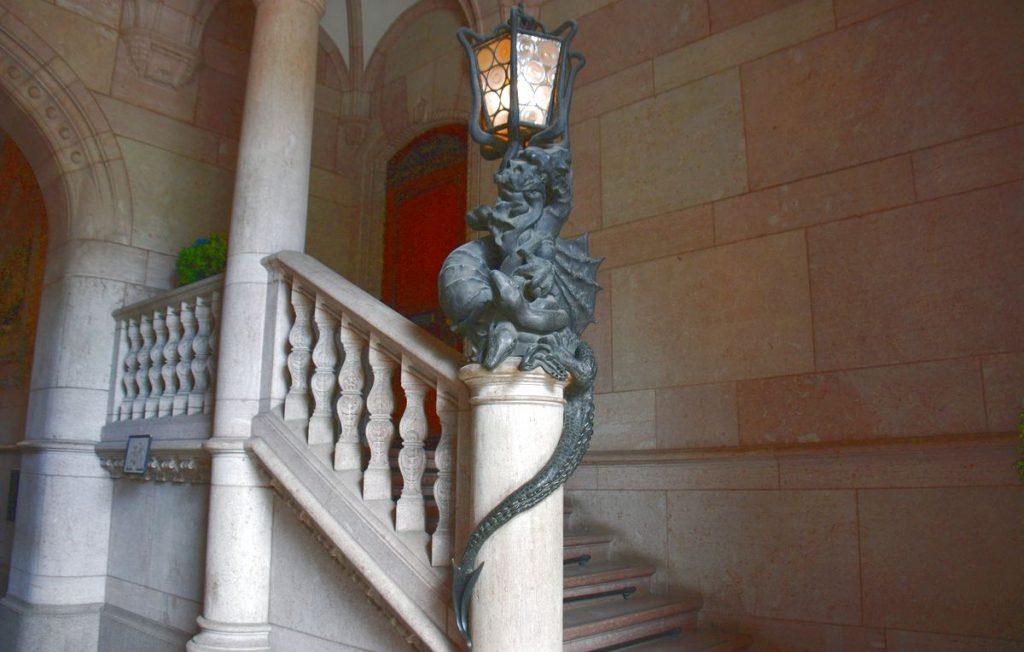 Entré i hallwylska Palatset i Stockholm