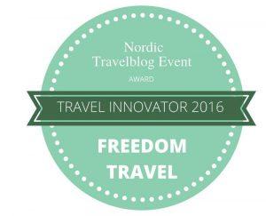 Travel Innovator 2016