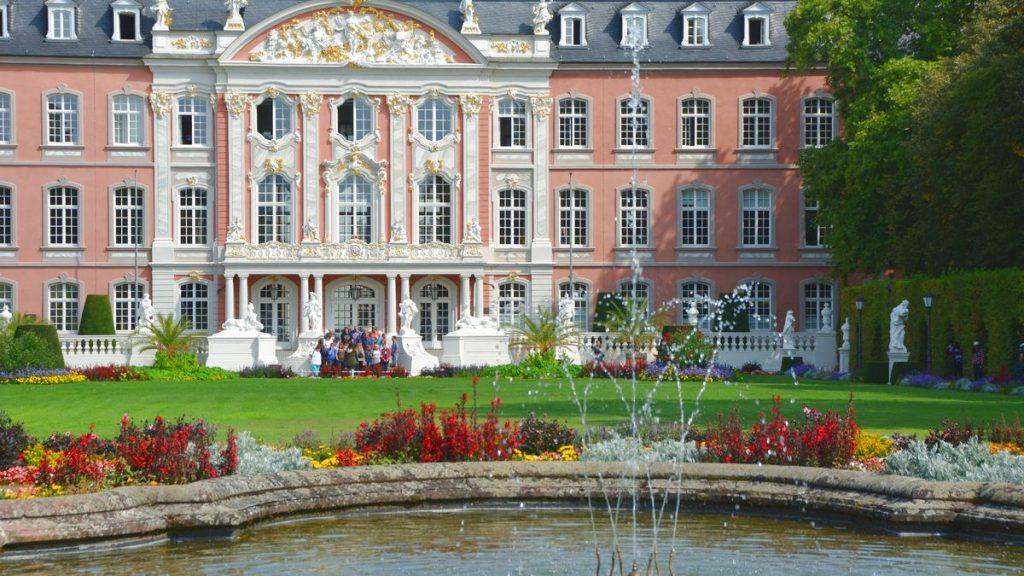 Trier slottsträdgård