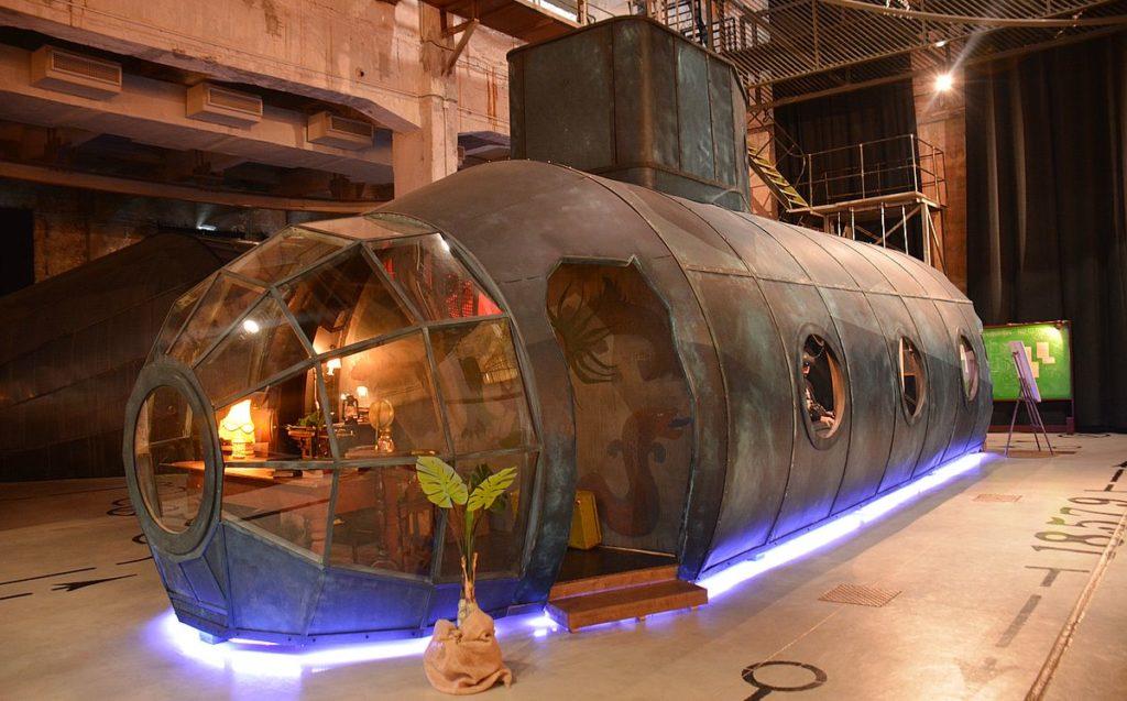 Ubåt på Proto upptäckarverkstad