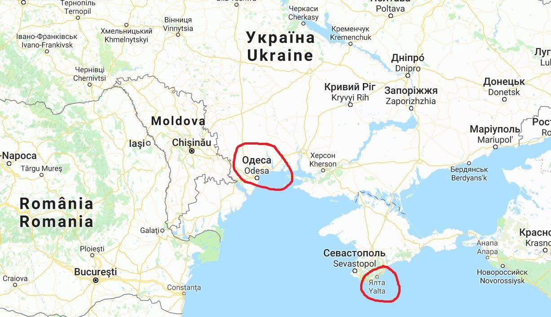 karta krimhalvön Solsemester 2008   Odessa i Ukraina | FREEDOMtravel karta krimhalvön
