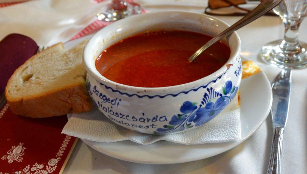 Ungersk mat - fisksoppa