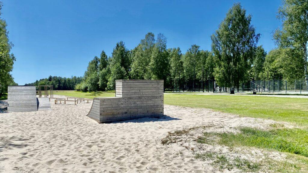 Böda Sand Camping - hinderbana