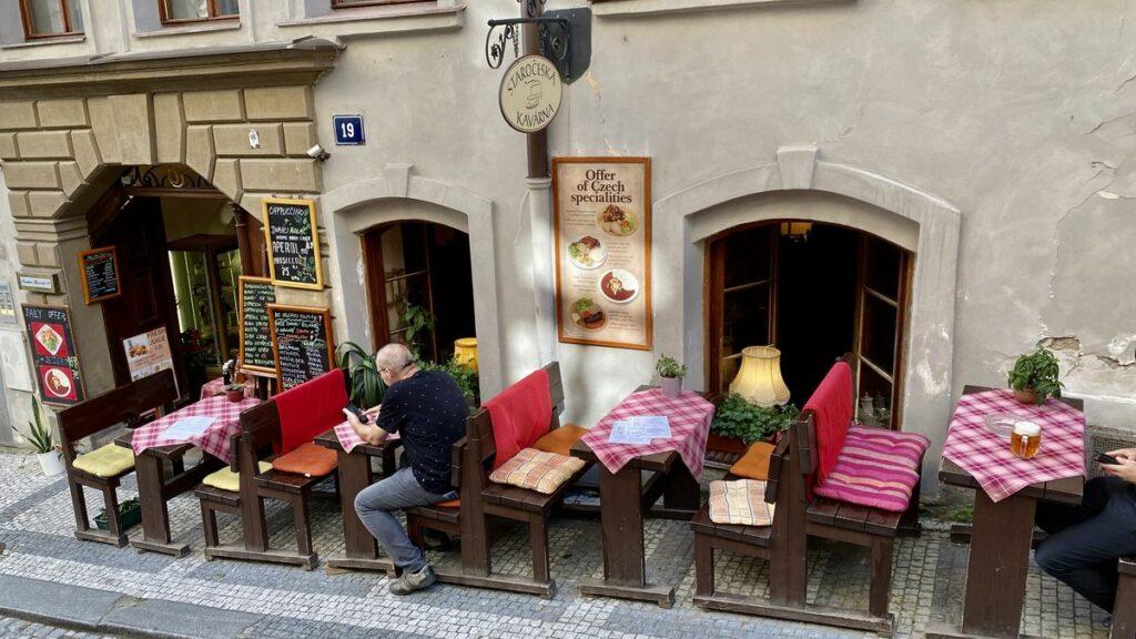 Restauranger i Prag