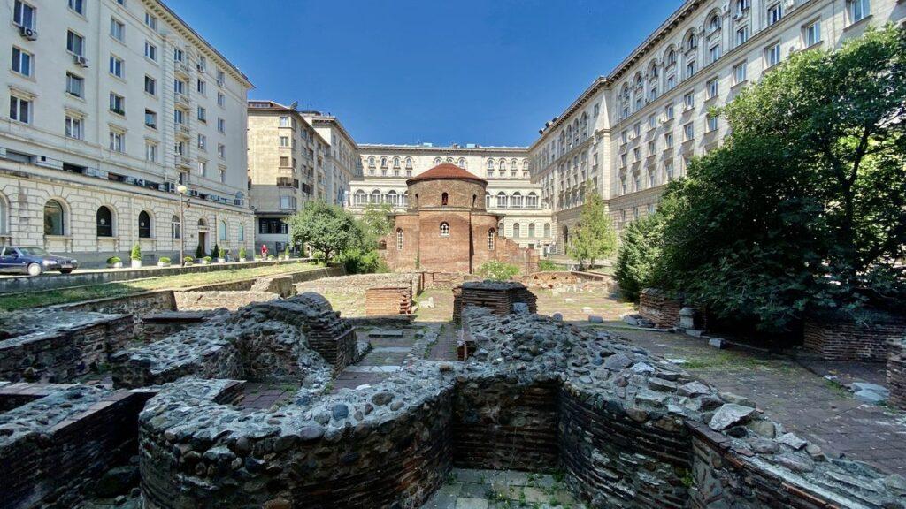 Göra i Sofia i Bulgarien - St George rotunda