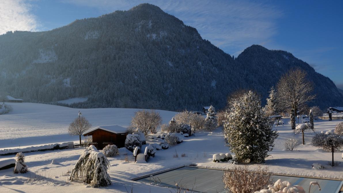 Utsikt hotell Pirchnerhof