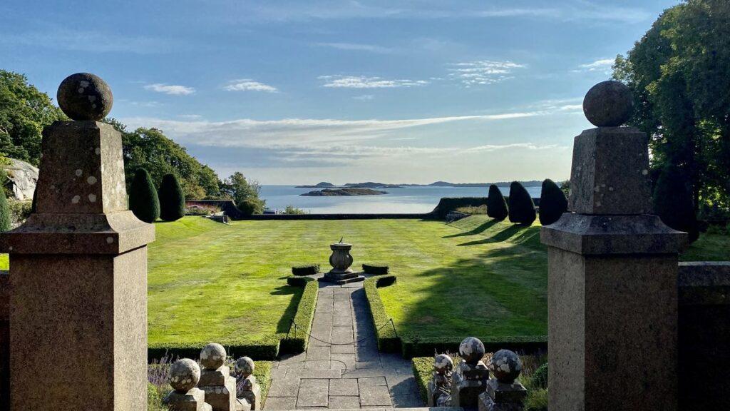 Att besöka Tjolöholms slott och trädgårdar