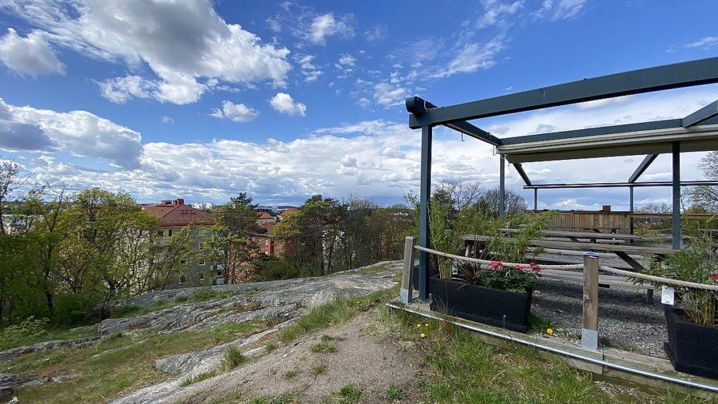 Utsikt från Tornparken