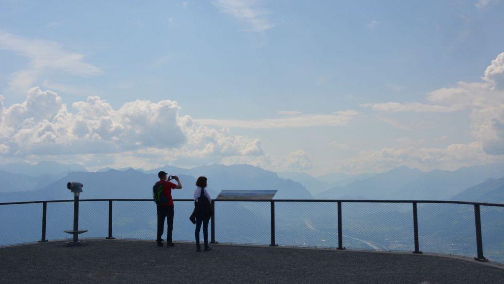 utsikt alptopp