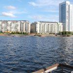 Utsikt från en Aquavilla