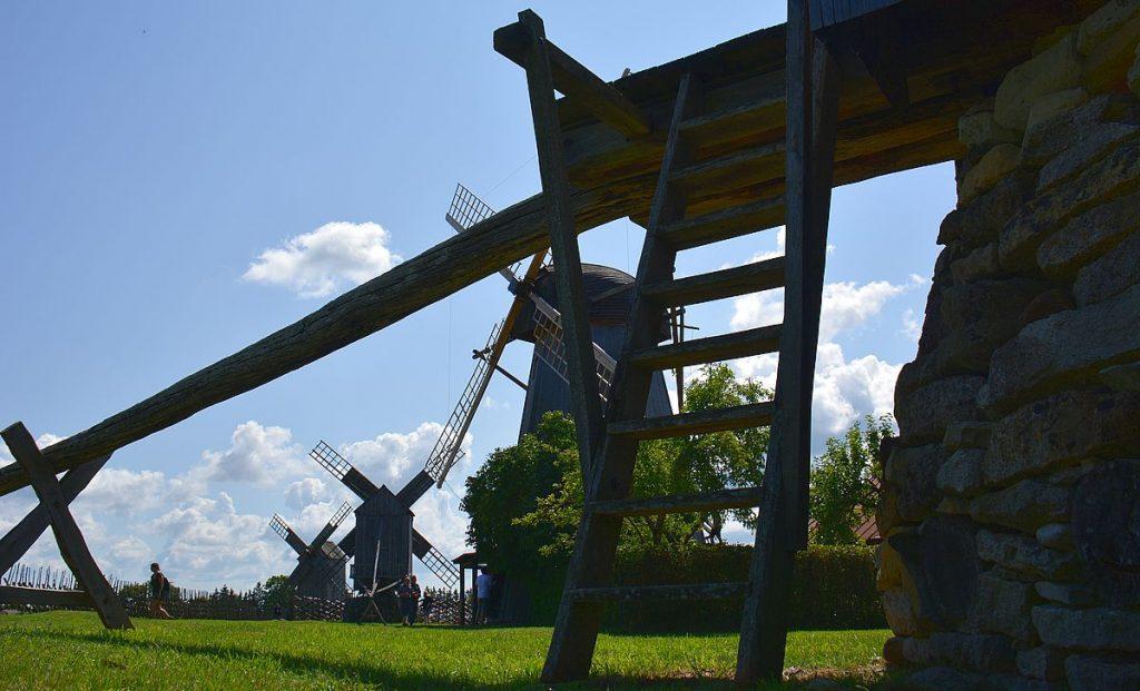 Väderkvarnar Saaremaa