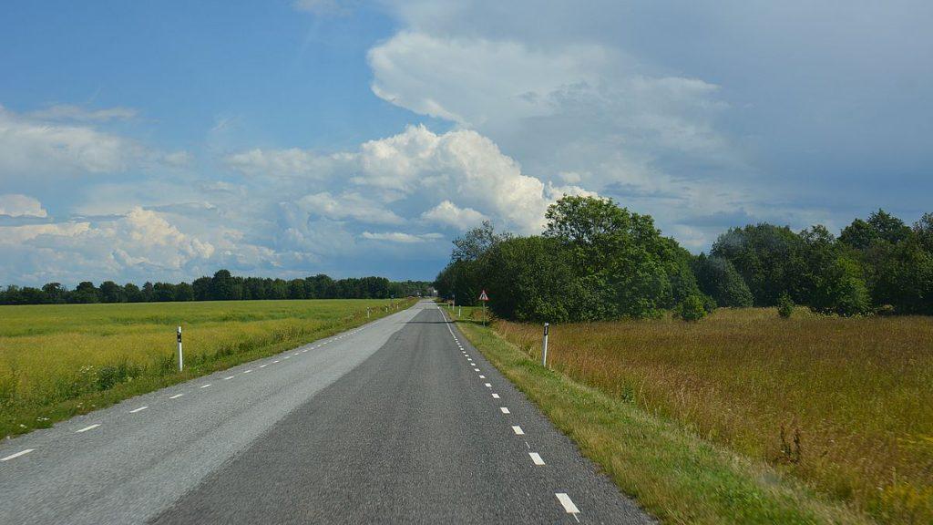 vägar i Estland, vid klipporna i Ontika