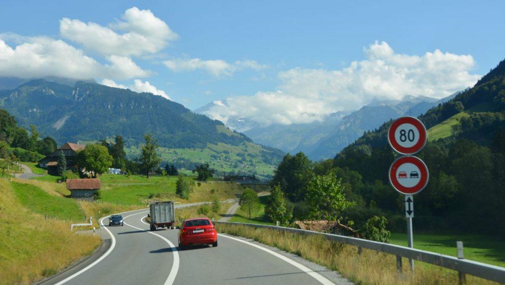 Väg Schweiz