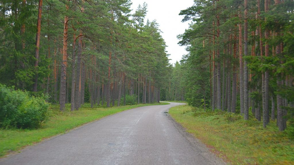 Med husbil i Estland