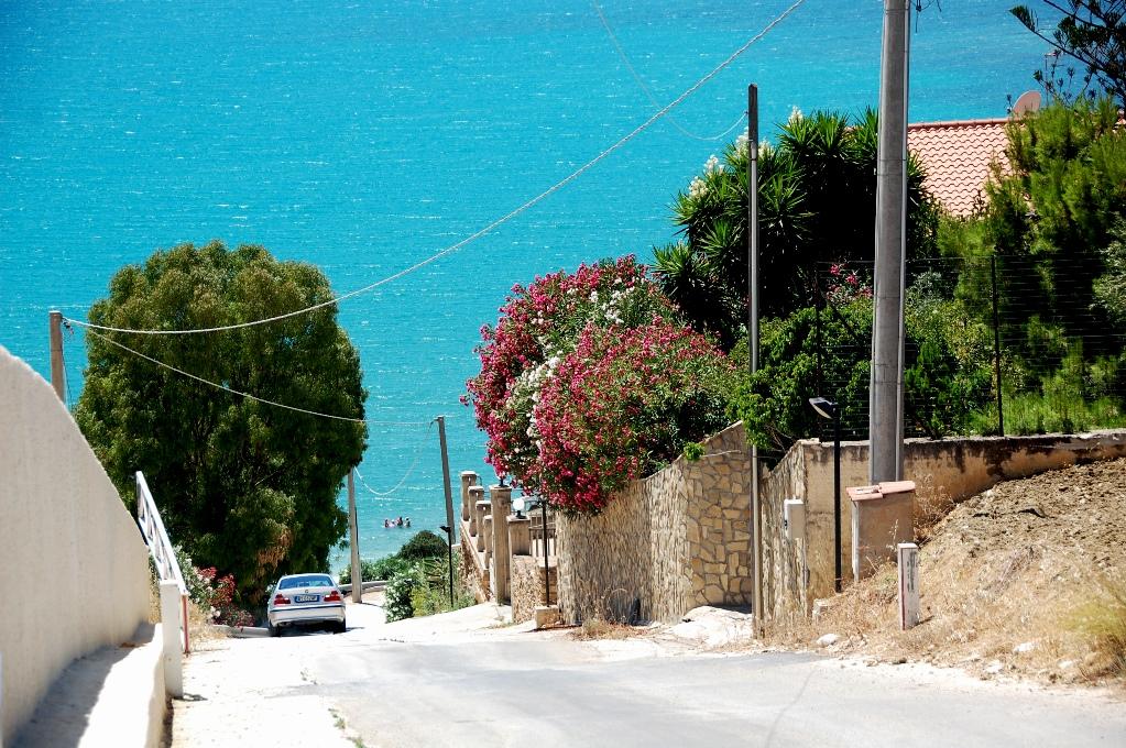 Köra runt Sicilien