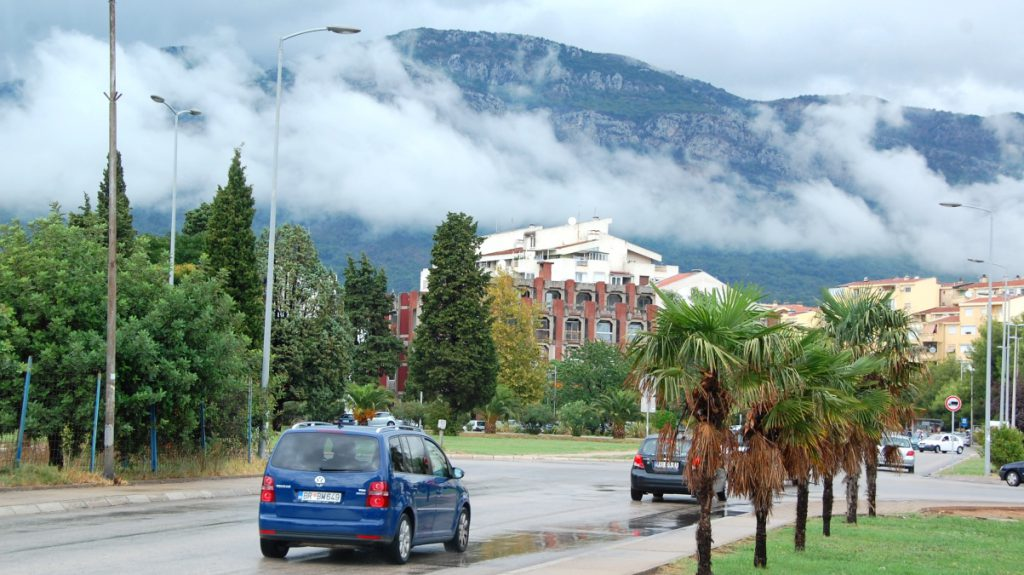 Längs Montenegros kust