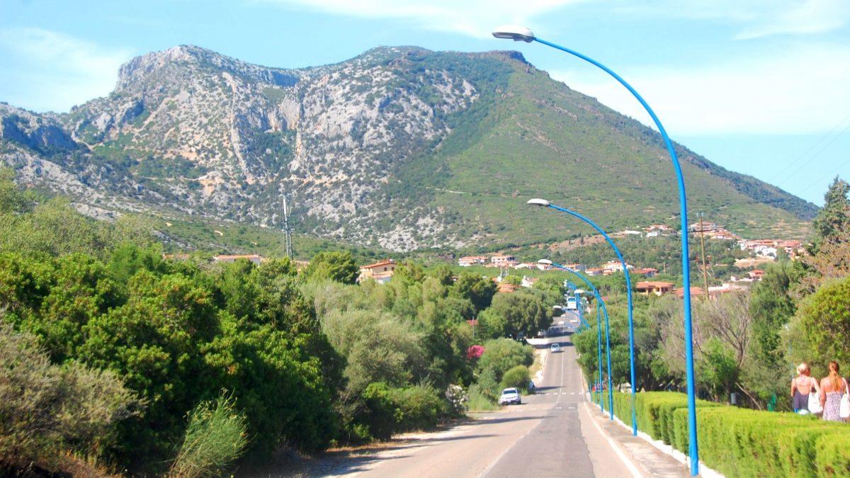 Vägar på Sardinien