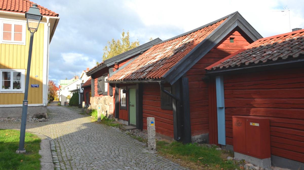 Västerås gamla hus