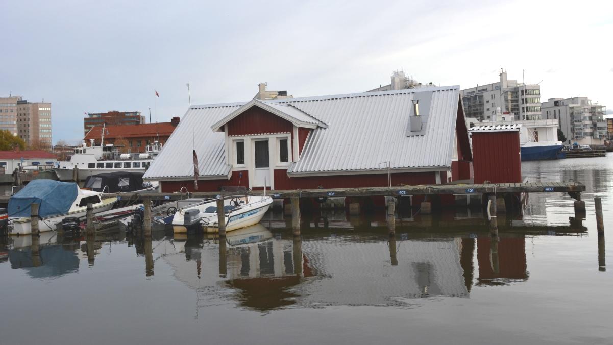 Västerås hus under vatten
