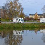 Trevlig ställplats i Västerås gästhamn