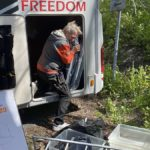 Vårstädning i husbil – vi röjer garaget för elcyklarna