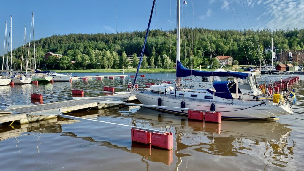 ställplats i Valdemarsviks gästhamn