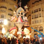 Las Fallas by night