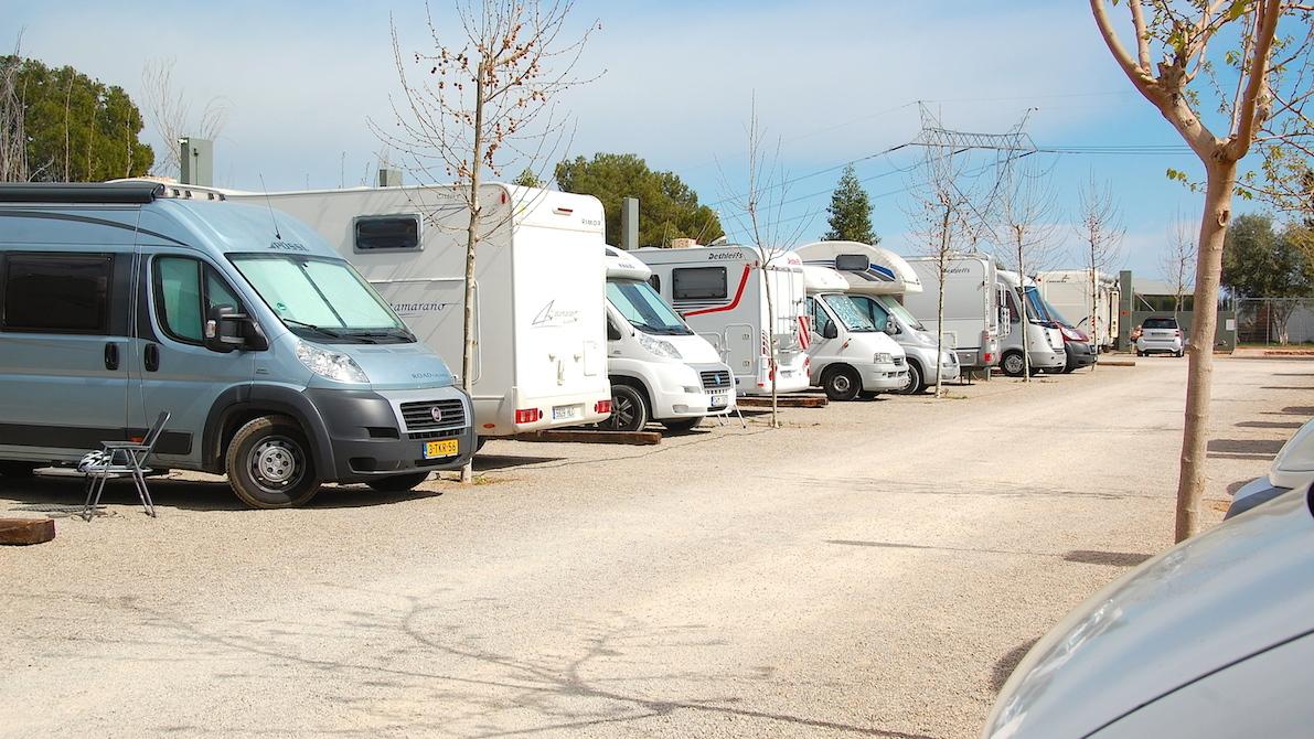 Valencia camper Park, Spanien
