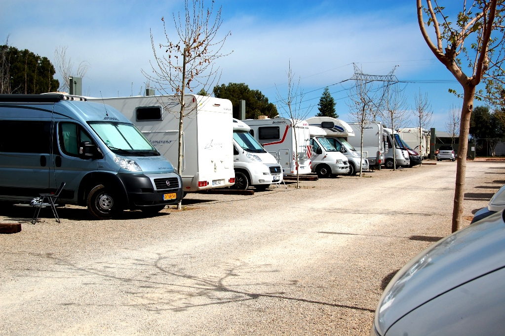 Ställplatser i Spanien: Valencia