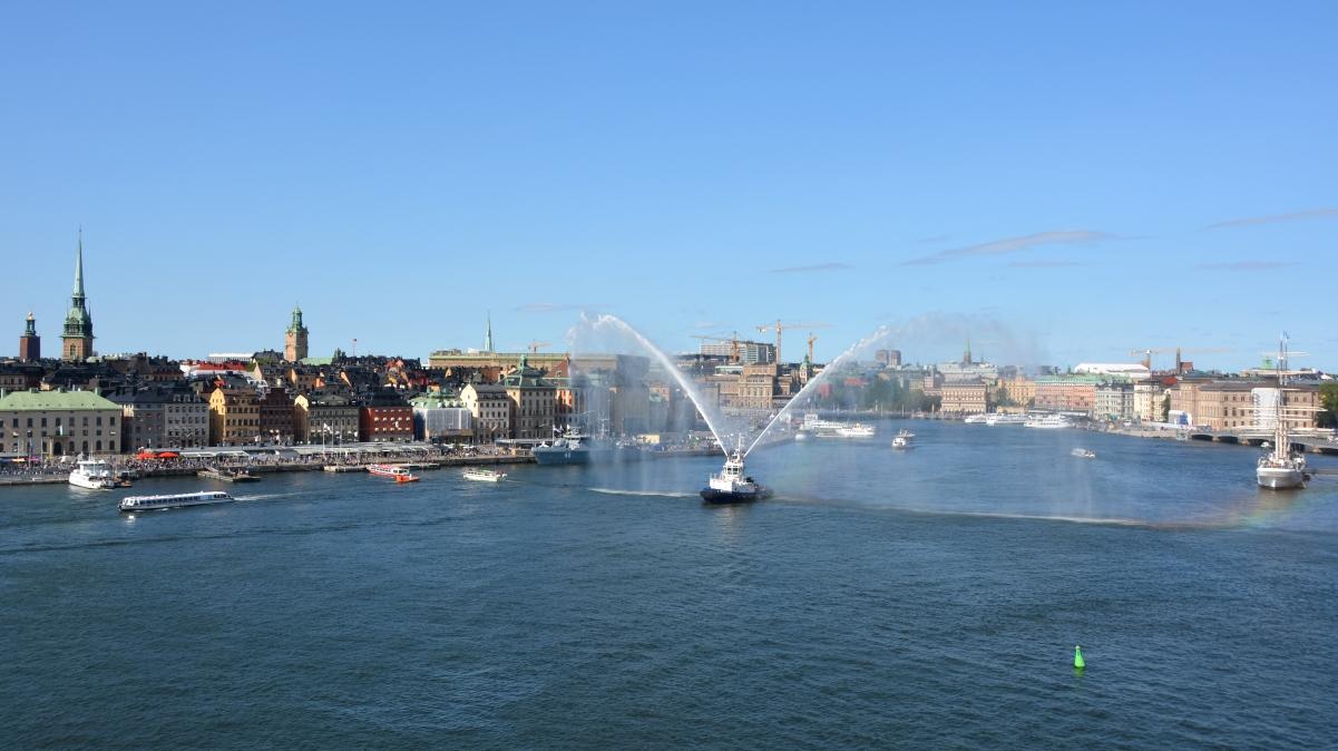Vattenkanoner stockholm