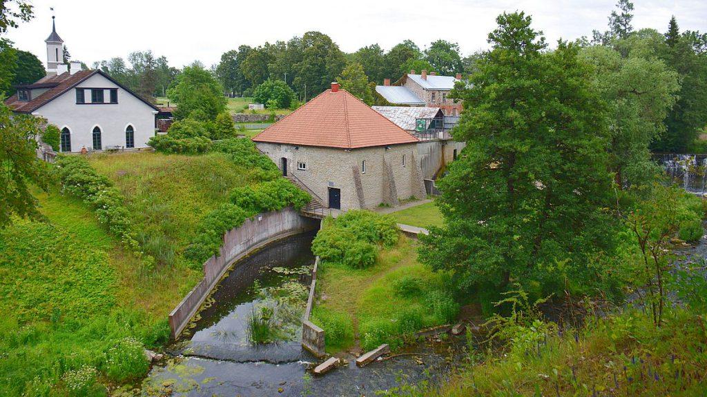 Vid keila vattenfall i Estland