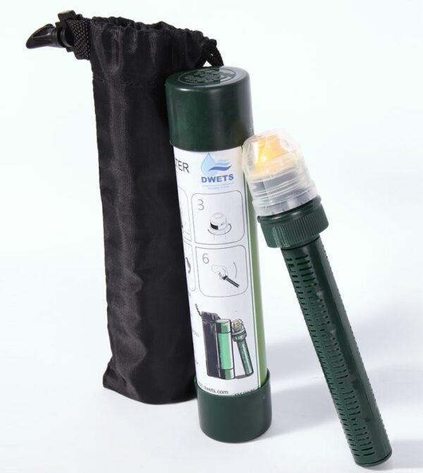Vattenrenare för petflaska - vattenfilter vandring