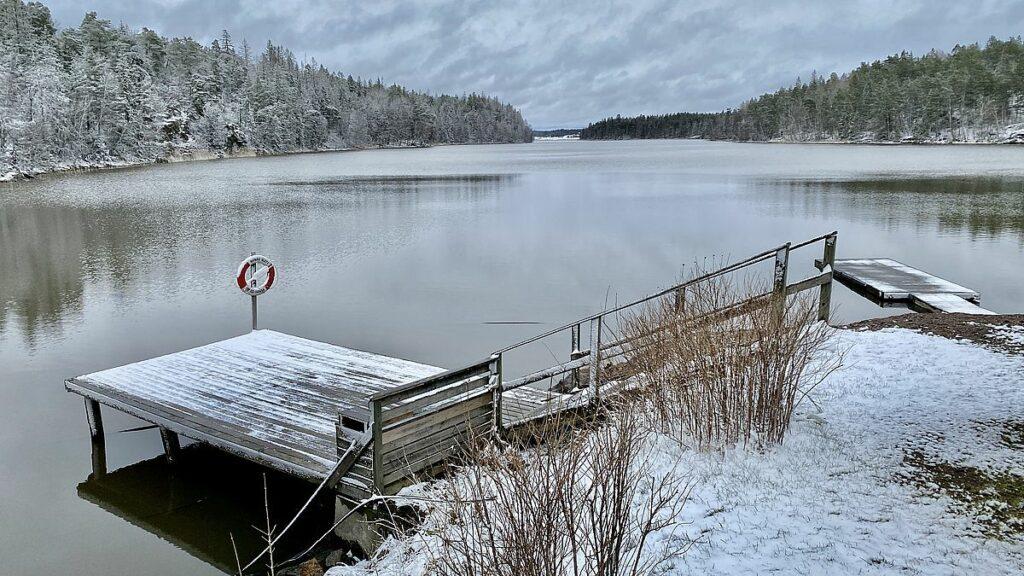 Nynäs naturreservat brygga