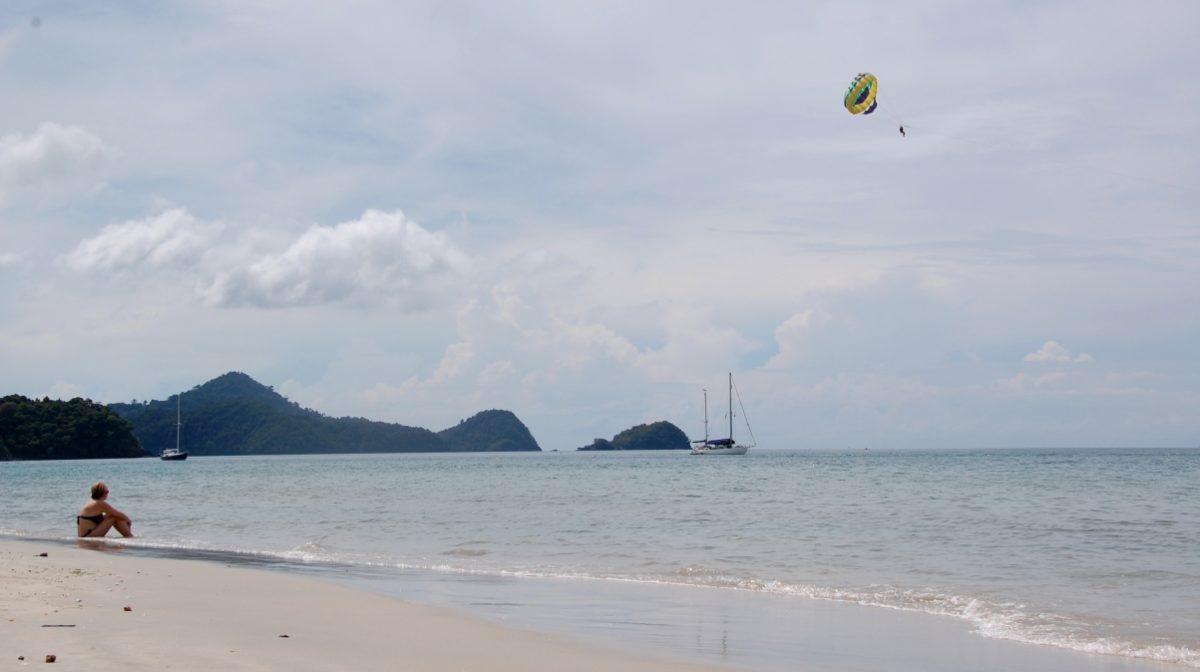 Vid stranden Langkawi
