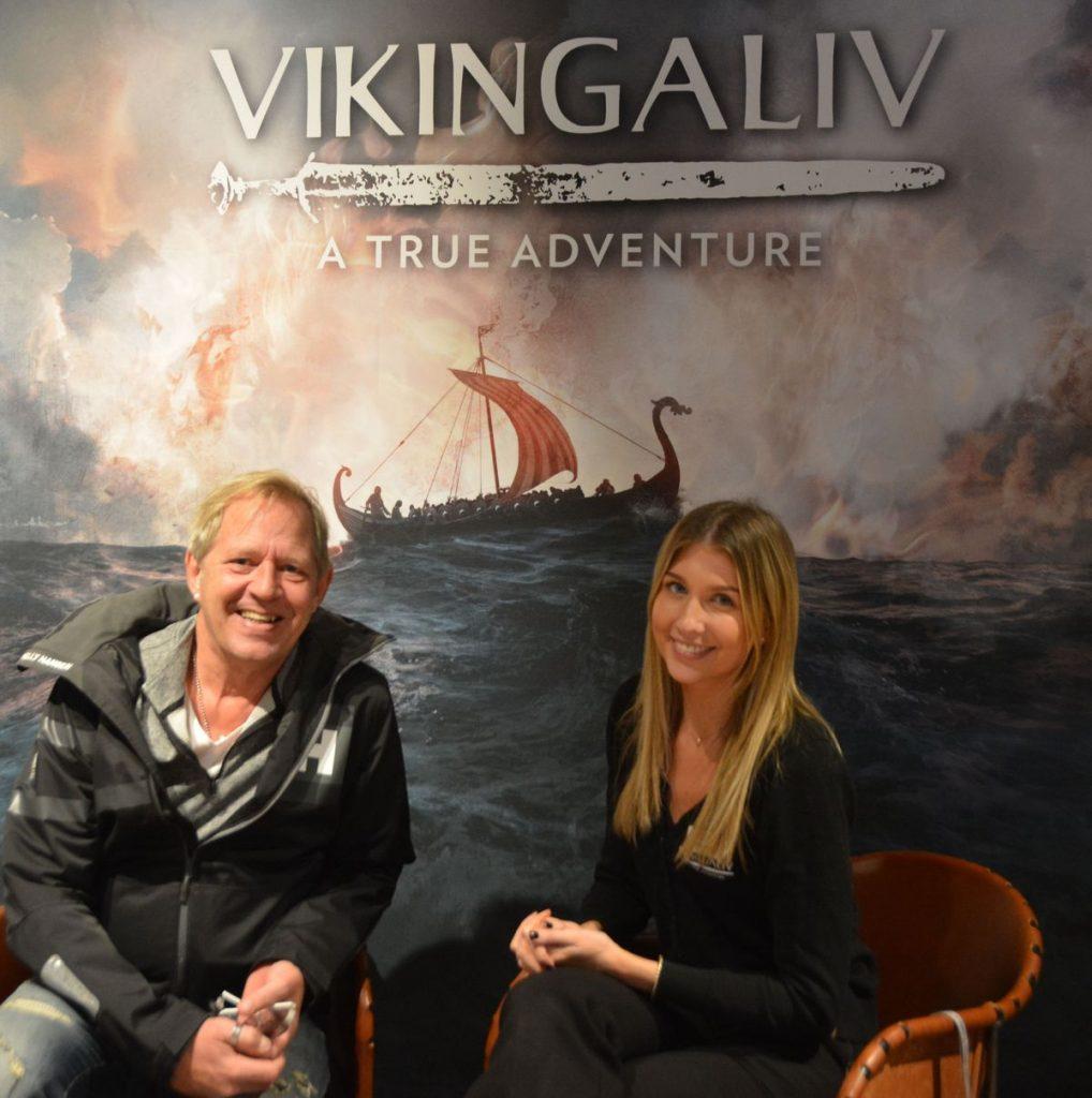 Vikingaliv vikingamuseum i Stockholm